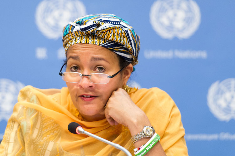 Photo: Amina J. Mohammed, UN Deputy Secretary-General. Credit: UN Photo/Mark Garten.