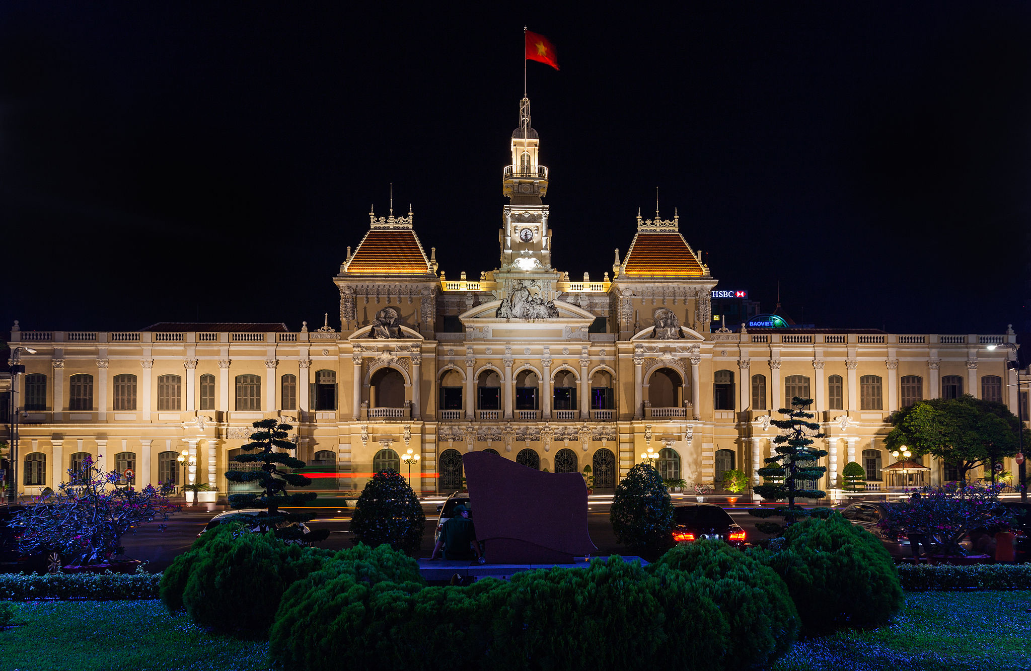 Photo: City hall, Ho Chi Minh City, Vietnam. Credit: Diego Delso | Wikimedia Commons