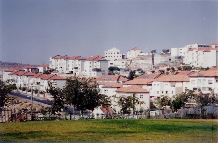 Photo: Betar Illit, one of the four biggest settlements in the West Bank. Credit: Wikimedia Commons