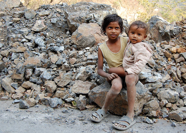 Photo: Kids in Rishikesh, India. Credit: Wikiwand.
