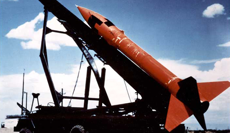 Photo: The MGR-1 Honest John was the first nuclear-tipped rocket developed by the U.S. Credit: Wikimedia Commons.