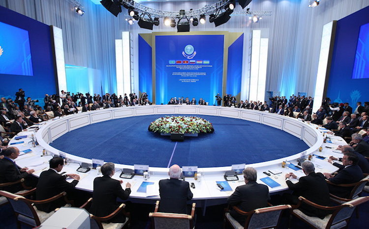 Photo: A view of the SCO Summit. Credit: SCO