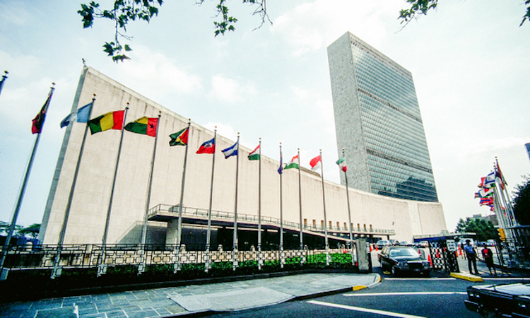 Photo: The United Nations Complex in NYC. Photo via Outlook