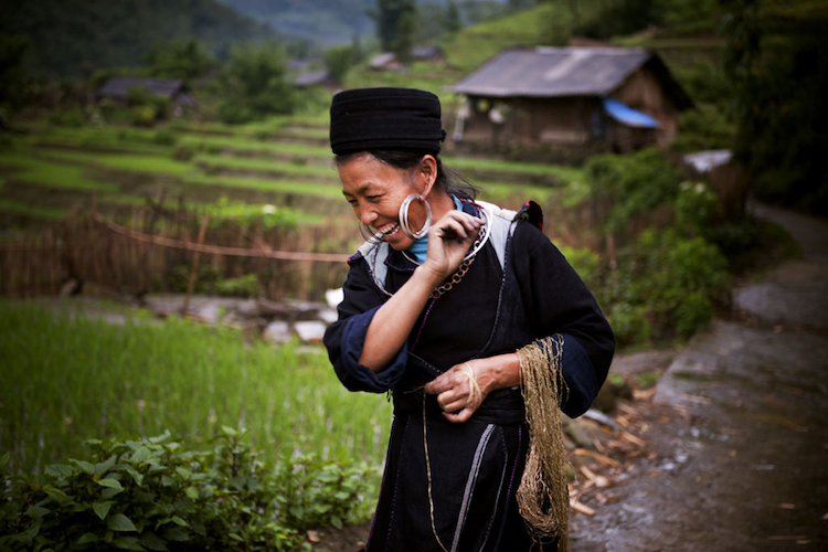 Photo: A H/mong hill tribe woman in a village of Sin Chai, Sapa, Viet Nam. Women's labour accounts for the two-thirds of subsistence agriculture in developing countries, yet they often have no rights over the land. Credit: UN Photo/Kibae Park