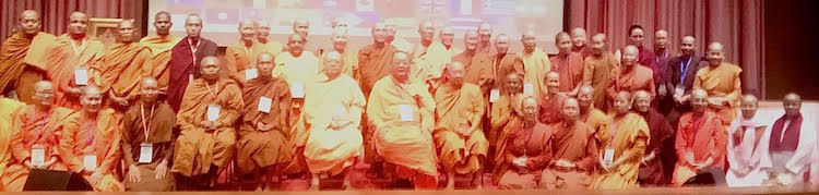 Photo: A group photo of the participants of the conference of nuns and monks. | Credit: Kalinga Seneviratne | IDN-INPS