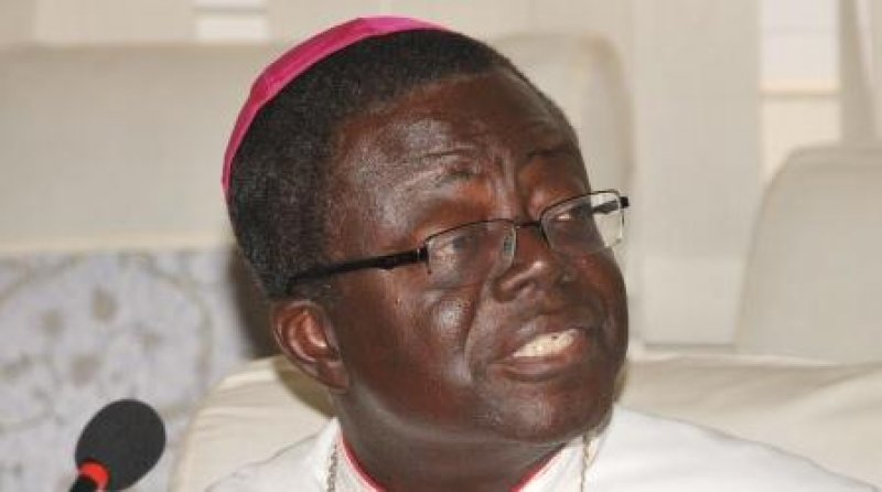Rev. Joseph Osei  Bonsu, President of the Catholic Bishops Conference