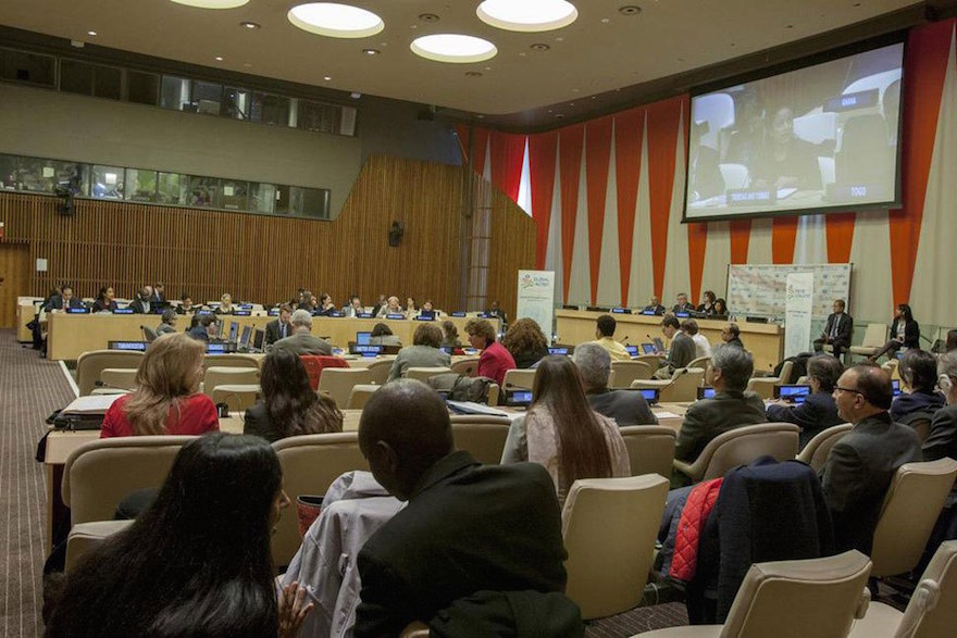 Wide view of the Economic and Social Council (ECOSOC) | Credit: UN Photo - Loey Felipe
