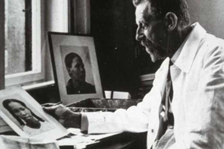 "Photo: Eugen Fischer, an infamous German eugenicist who studied ""racial mixing"" in colonial Namibia, and whose theories inspired Adolf Hitler, and later eugenics researchers at South Africa's Stellenbosch University. Credit: africasacountry.com"