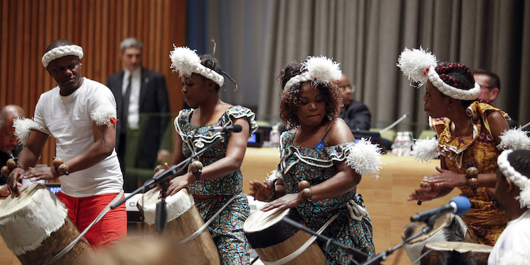 Photo: Launch of the International Decade for People of African Descent on 10 December 2014 at United Nations Headquarters, New York. Photo: Martin Dixon.