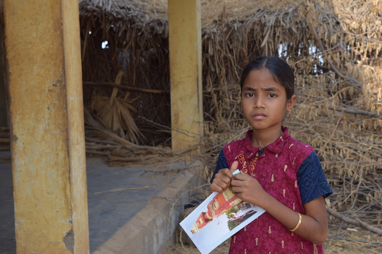 Manasa, an adolescent rescued from child labor in India's Guntur. Her rescue was made possible by a survey conducted by the district administration on school dropouts. Credit: Stella Paul - IDN | INPS