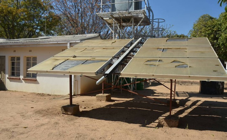 Photo: Solar energy has become the way to go amid deepening electricity deficits across Southern Africa. Credit: Jeffrey Moyo/IDN-INPS.