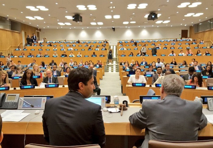 Photo: World Skills Day at the UN headquarters in New York on 15 July 2016. Credit: UN.